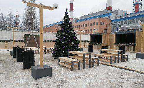 Площадка для уличного корпоратива г. Казань